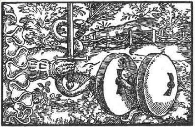 Xilografía de Paracelso 1