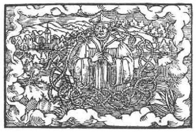 Xilografía de Paracelso 25