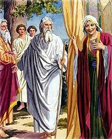 Patriarca Abraham y su mujer