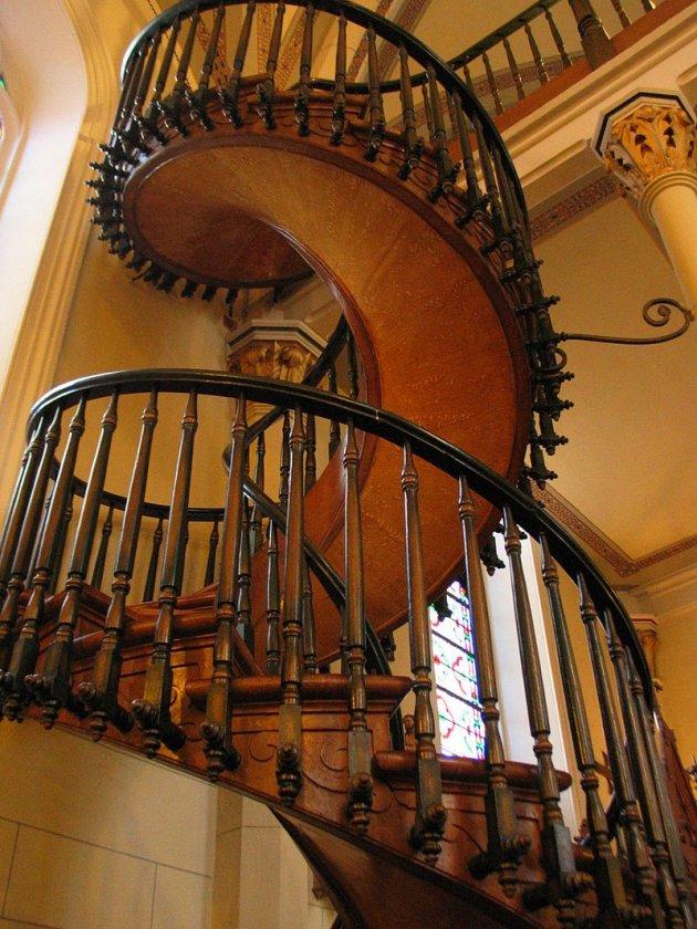 Escalera de Santa Fe