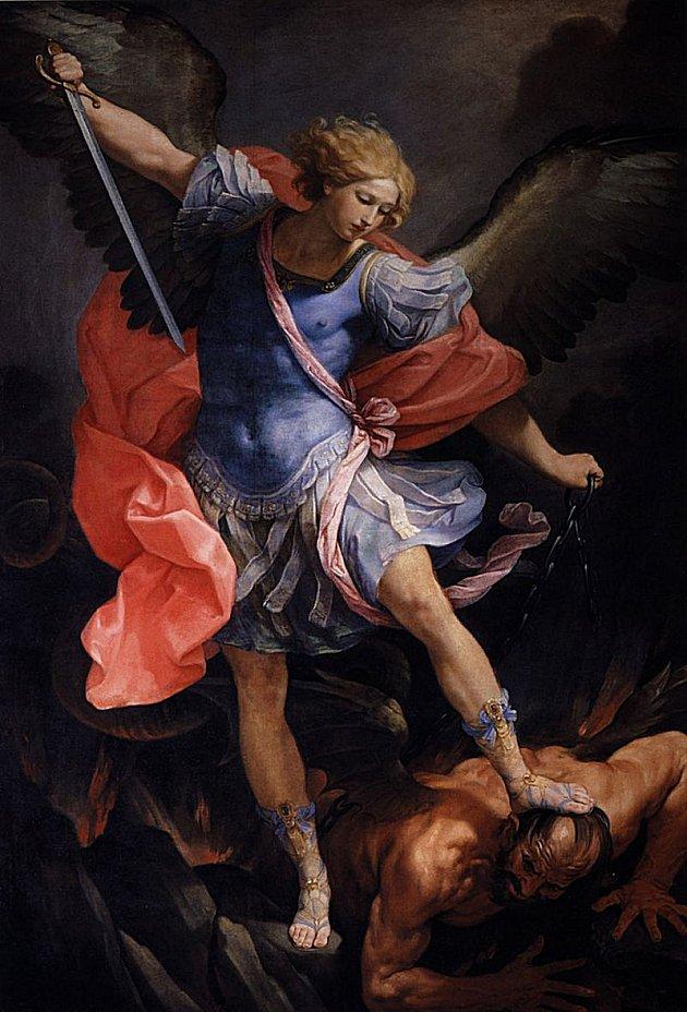 Guido Reni : San Miguel vence a satanás