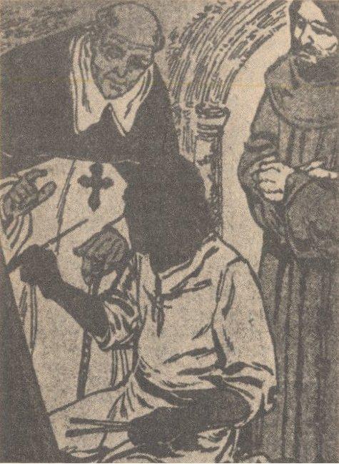 Juan Diego y el obispo Zumárraga