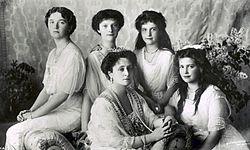 Familia Romanov en 1913