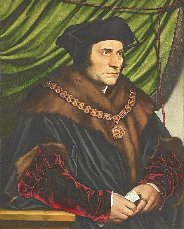 Tomás Moro - 1527 - Hans Holbein el Joven