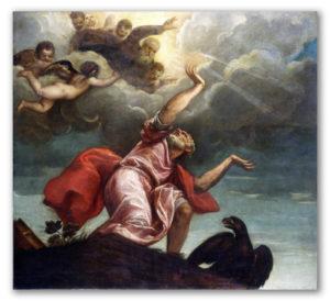 San Juan Evangelista en Patmos, Tiziano