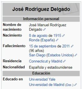 José Manuel Rodríguez Delgado