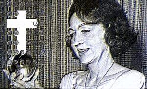 Representación artística de Jeanne Dixon