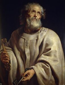 San Pedro pintado por Rubens