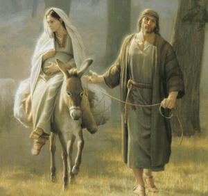 Santa María y San José